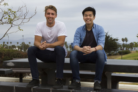 Trevor Leung and Andre Hale, founders of the new Young Entrepreneurs club, are having their first club meeting Thursday, April 23, on West Campus at City College.