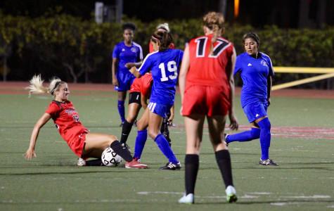 SBCC women's soccer suffers first loss against Santa Monica