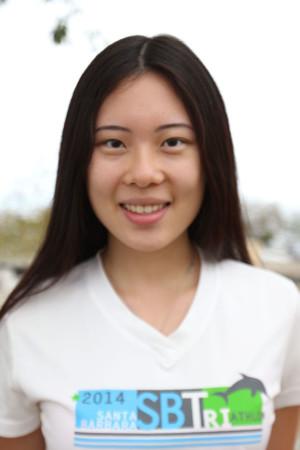 Angela Liu, senator for the Associated Student Government at Santa Barbara City College, on Friday Oct. 16, in Santa Barbara.