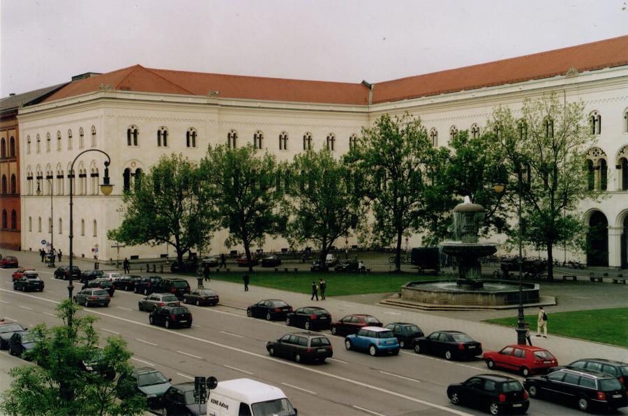 Ludwig Maximilian University of Munich in Munich, Germany. Image Source: Wolfgang Zeidler (Wzwz) on Wikimedia Commons.