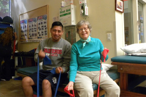 Santa Barbara City College now offers a program for students to earn a Skills Competency Award and an Associate of Arts Degree in Healthy Aging. Photo courtesy of the Santa Barbara City College Healthy Aging Program and the Physical Education Department.