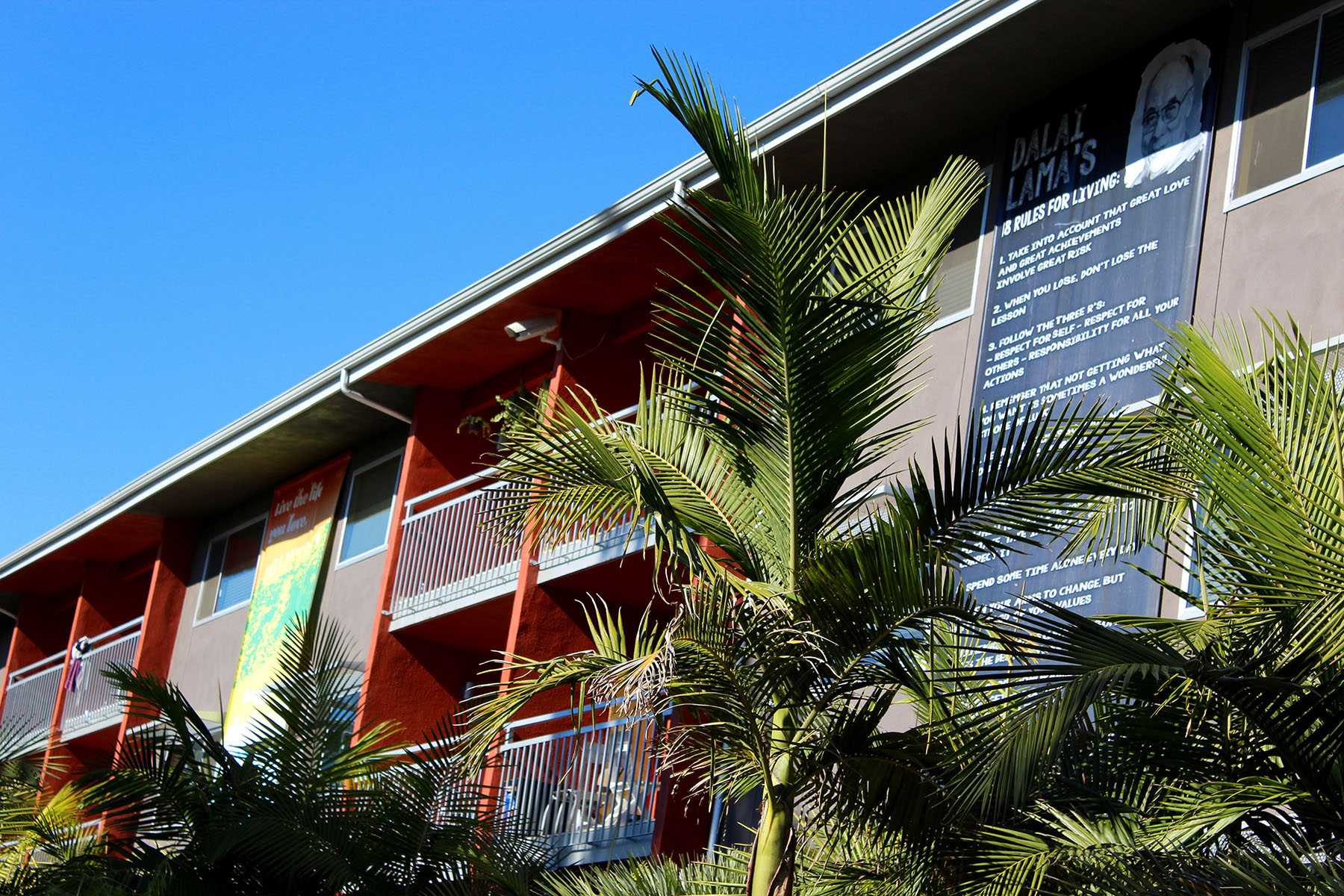 Beach City apartment complex is one of several in the Santa Barbara area that is looking into a rental agreement with Santa Barbara City College, Nov. 19, on Cliff Drive between East and West Campus.