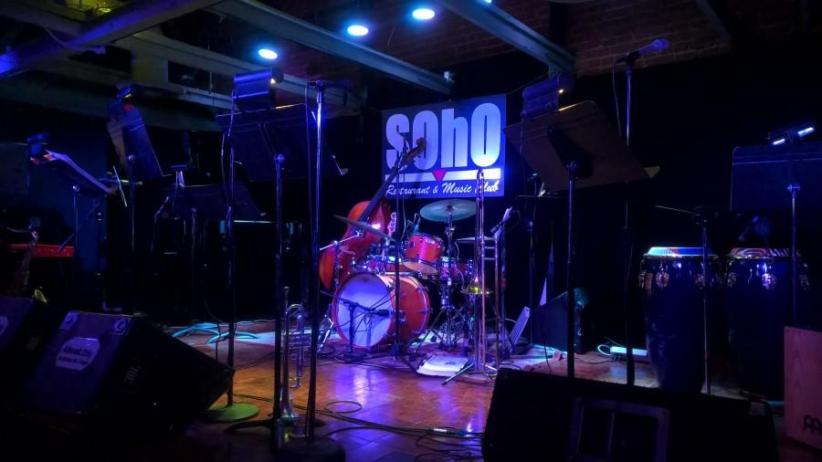 Student Jazz group warms up local venue by second half