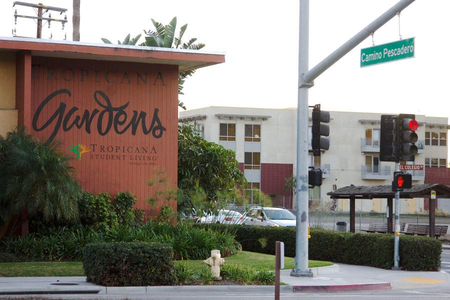 Tropicana Gardens currently houses over 500 City College students, Sunday, Nov. 22, in Isla Vista. The complex was bought by the University of California earlier this year and it is unclear if there will be housing for City College students in the future.