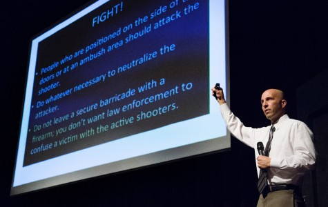 Police officer's active shooter presentation returns to SBCC