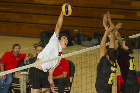 SBCC men's volleyball loses 3-1 against Irvine College