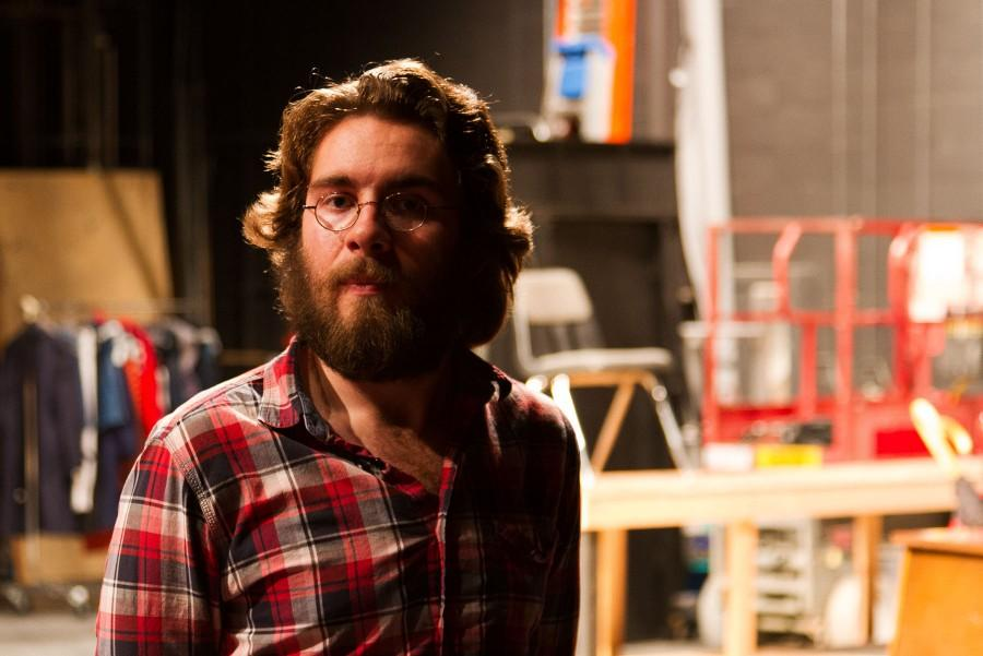 Blake Benlan, 20, and a second-semester City College student, will play the role of Leo Irving in the Theatre Group's production of 'In The Next Room or the vibrator play.' Benlan is the only student working with an otherwise all-professional staff.