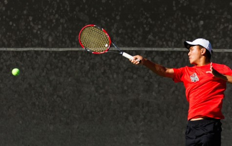 SBCC men's tennis lose 6-3 to undefeated Ventura College