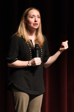 The City College Wellness Connection and Santa Barbara County Department of Behavioral Wellness hosted a lecture about mental health from Alison Malmon on Tuesday, March 22, in the Garvin Theatre at City College. Malmon founded Active Minds after her brother passed away from suicide.