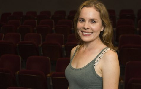 "City College alumna Katherine Bottoms is currently cast as the lead role, Catherine in the Theatre Group's production of ""Proof"" on Thursday evening, April 21, 2016 in the Jurkowitz Theatre at Santa Barbara City College. ""I still can't believe I get to do it,"