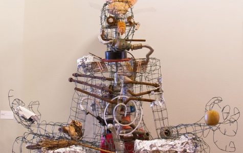 Student art feature 'trash' items at SBCC Atkinson Annex