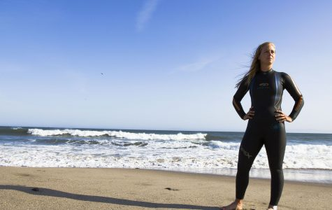 SBCC swimmer competes in the ocean, sets records in the pool