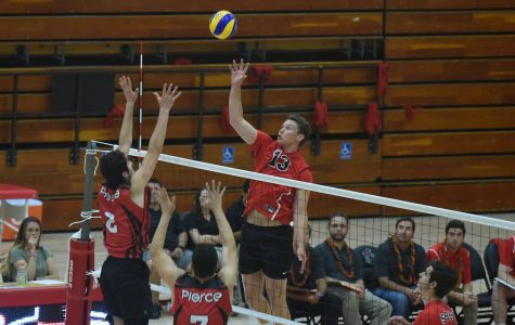 LA Pierce gets 3-1 win over SBCC volleyball in season's final game