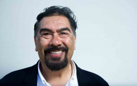 """Doctor Thomas Carrasco is the instructor of the  course """"Racism in America,"""" which focuses on the diverse ethnic groups that have created the American culture of today, Thursday morning, April 14, 2015 at City College. Carrasco is also involved in the Sigma Chi Eta group and helps cordinate events on campus."""