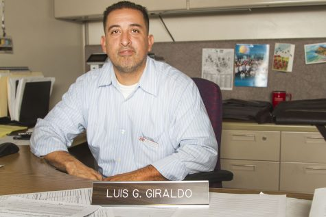 Luis Giraldo, director of equity, diversity and cultural competency, Oct. 14, 2016.