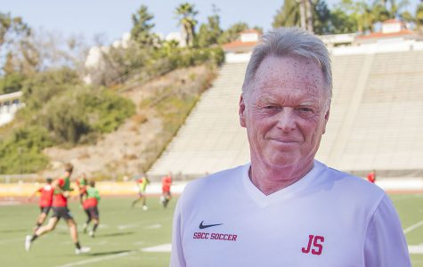 Sisterson is the most successful soccer coach in SBCC history