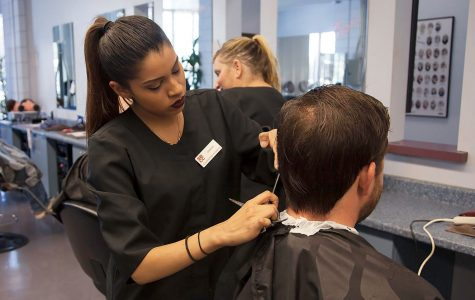 SBCC students cut hair to raise money for Surfrider Foundation