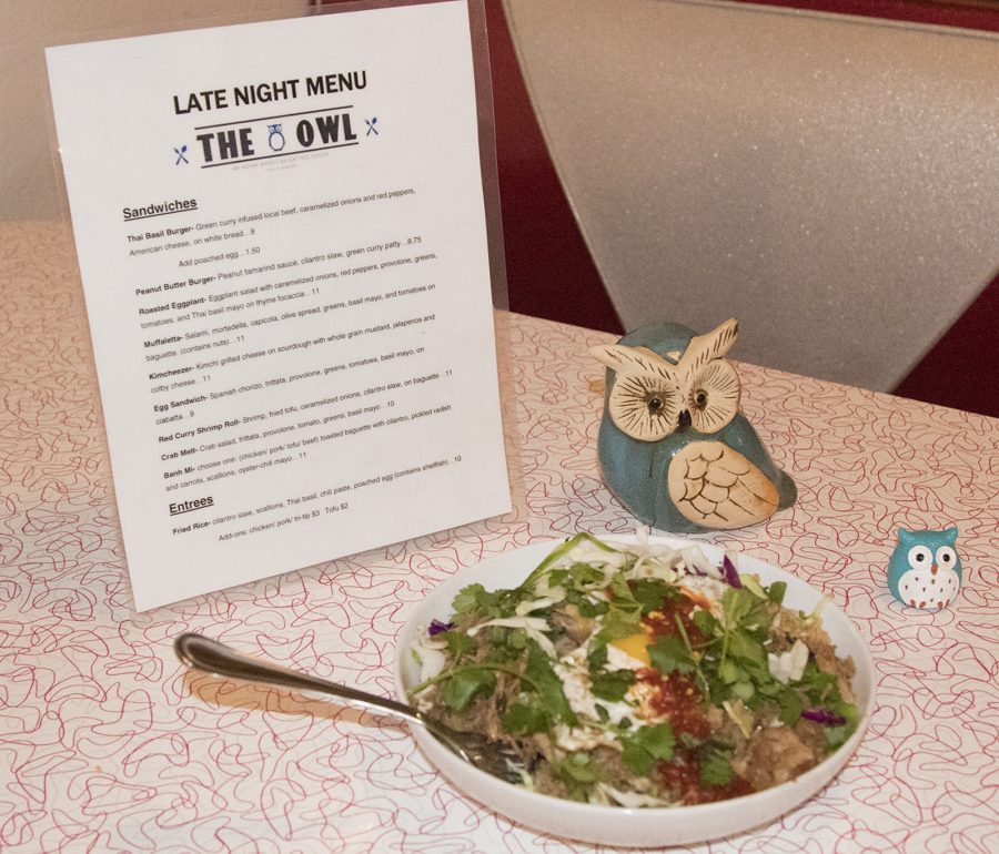 Cindy Black, owner of Blue Owl Restaurant, made her signature pork fried rice dish on Friday, Nov. 4, in Santa Barbara. Blue Owl has been open since September 2010 and specializes in Asian inspired dishes.
