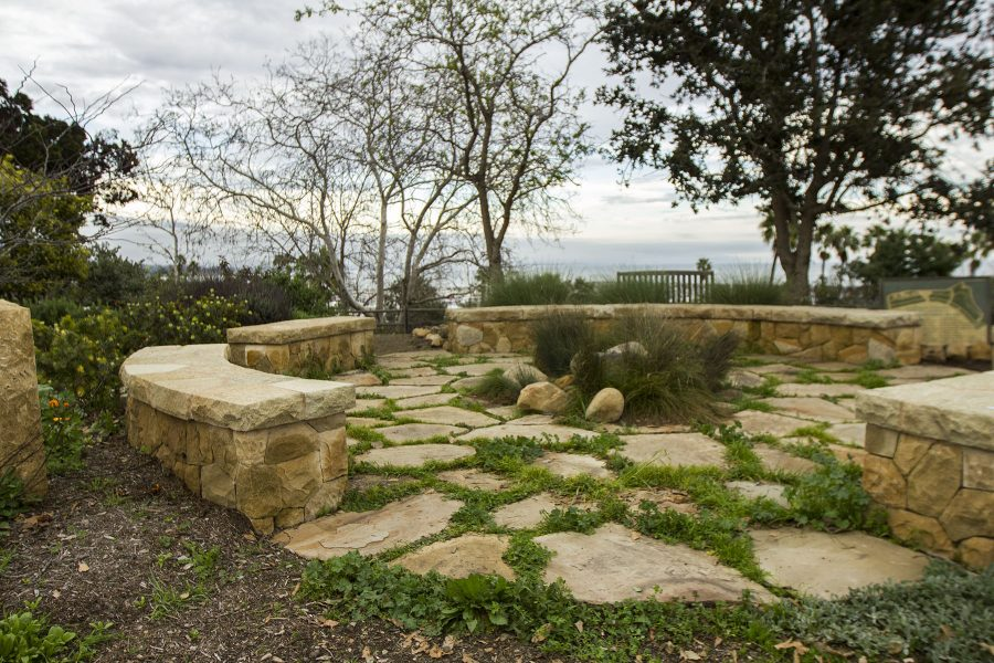 The Lifescape Gardens on Thursday, Feb. 9, 2017, on east campus at Santa Barbara City College. The gardens can hold up to 30 to 40 people.