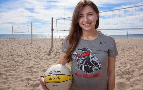 Libero of the year winner uses volleyball as stress outlet