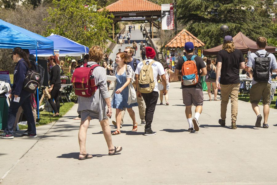 The City College Earth Day festival on Thursday, April 20, in the Great Meadow on West Campus.