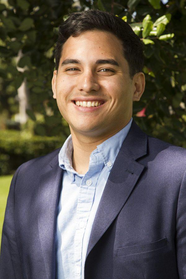 Matthew Esguerra, running for vice president of external affairs.