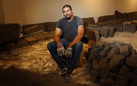 Artist builds adobe structures at SBCC, linking labor and culture