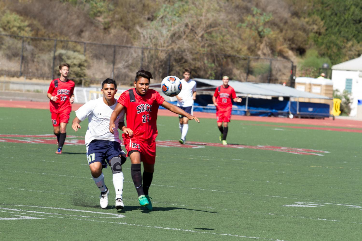 Vaqueros men's soccer ties 1-1 in third home game against Clovis