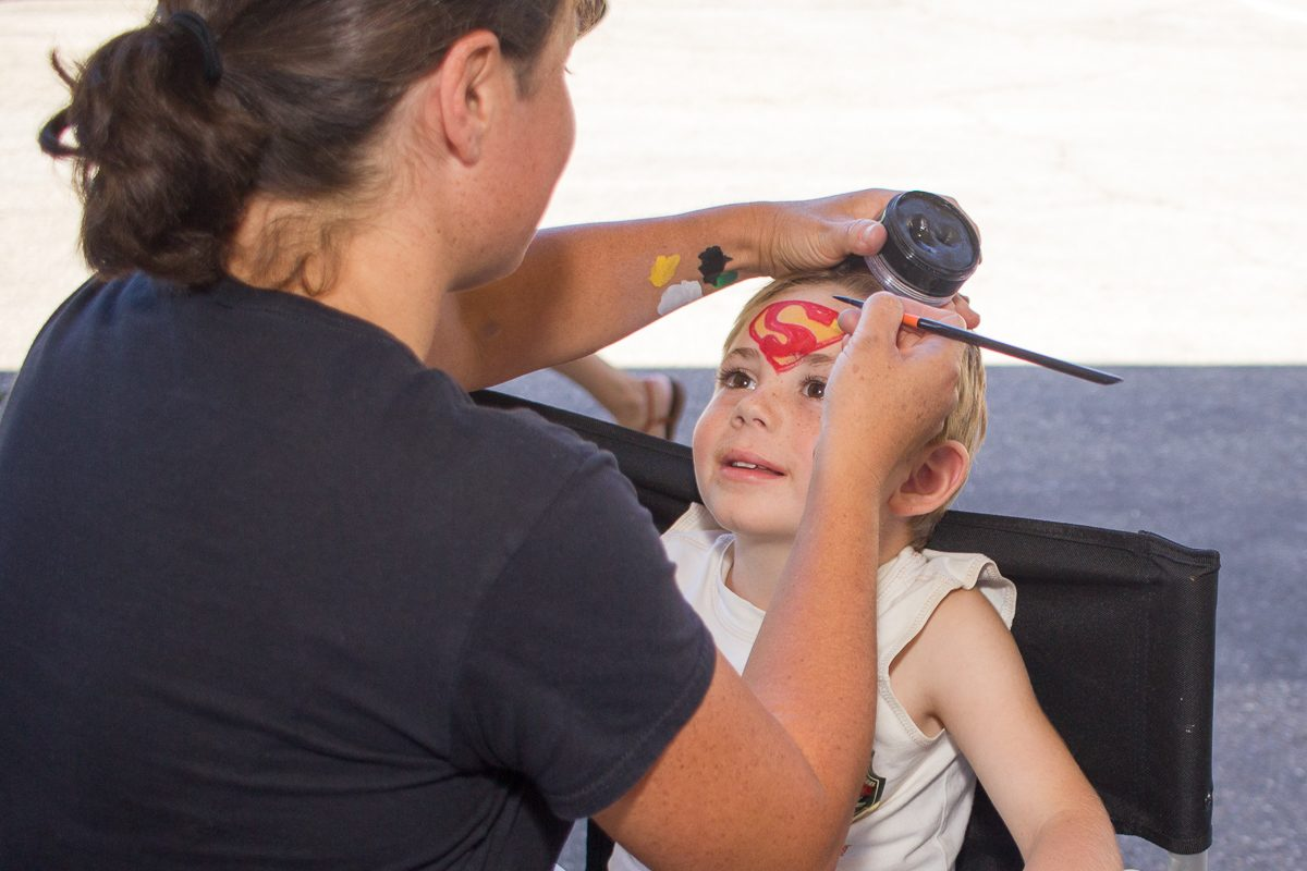 Five-year-old+Evan+Augustus+gets+his+face+painted+by+Maria+Perez+during+the+annual+Touch-A-Truck+event+Sunday%2C+Sept.+24%2C+2017%2C+at+City+College+in+Santa+Barbara%2C+Calif.+The+events+largest+donation+came+from+the+Crane+Country+Day+School%2C+which+donated+over+%242%2C500.+