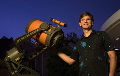 SBCC's Astronomy instructor  Sean Kelly is an astro-nut