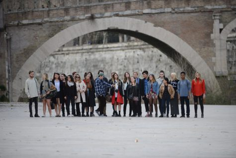 Courtesy art of all the study abroad participants for spring 2017 semester in Rome, Italy and Paris from program director Michael Stinson.