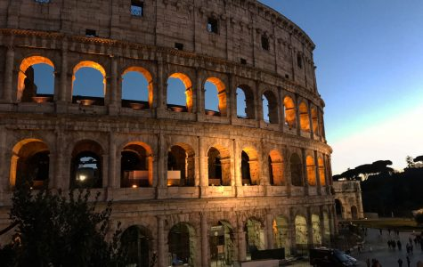 Courtesy art of the Colosseum from Emily Crowder.