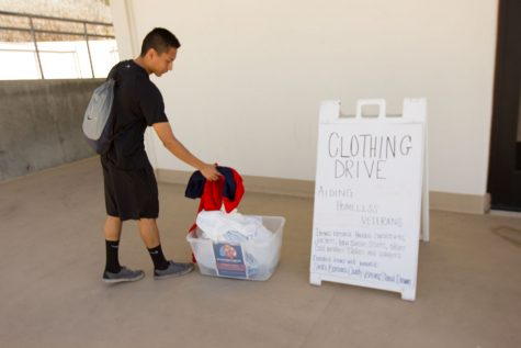 SBCC holds clothing drive to help keep homeless veterans warm