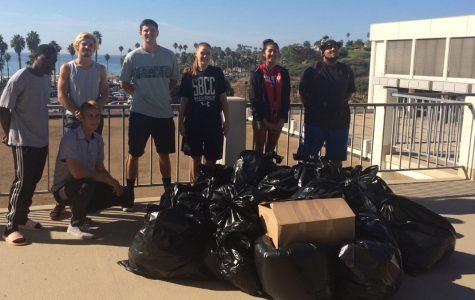 Athletic department's clothing drive overflows pick-up truck