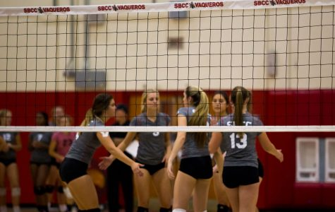 SBCC women's volleyball completes 3-0 sweep of Cuesta