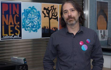 SBCC's new head of graphic design inspires creativity