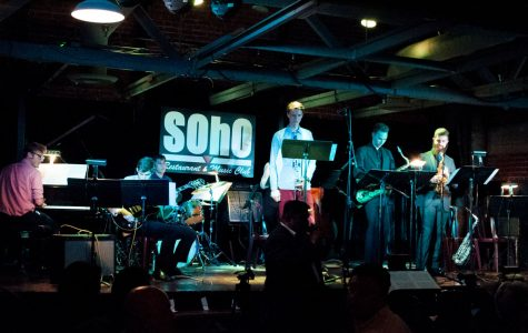 Lunchbreak Jazz Ensemble performing live on stage Monday, Oct. 16, at SOhO Restaurant and Music club in Santa Barbara, Calif.