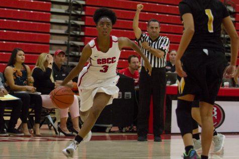 SBCC women's basketball wins season opener against Taft