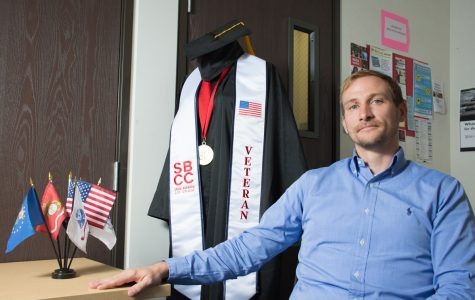 SBCC's new veterans support spent 12 years in the Marines