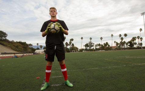 Shane Pitcock discusses being goalie of SBCC men's soccer team