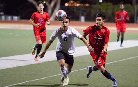 Strong second half leads SBCC men's soccer in first round