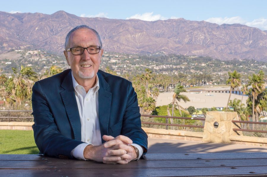 City College's new trustee Robert Miller at the Winslow-Maxwell Overlook on Feb. 23, 2018, in Santa Barbara, Calif. Miller has served on the board since being appointed in 2018.