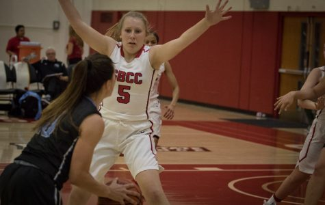 SBCC women's basketball endures tough loss to Moorpark in final home game of season