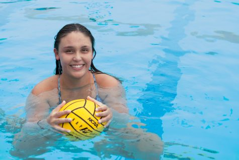 Lady Vaqueros water polo goalie makes waves in competition