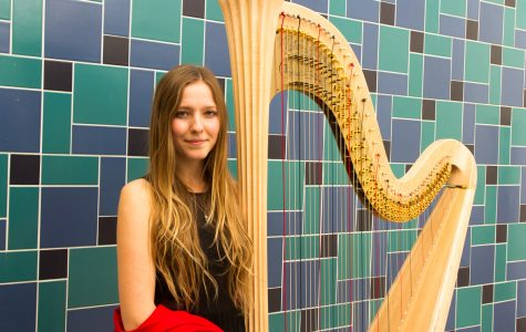 SBCC's sole student harpist is on an inspiring musical journey