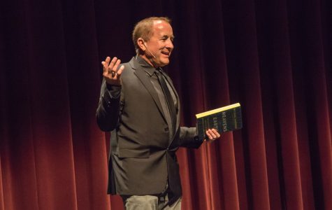 """Michael Shermer, best selling author and publisher of Skeptic Magazine, gave a talk at City College about his recent Book """"Heaven on Earth"""", for the Faculty Colloquium, on Monday, March 19, at the Garvin Theater. Shermer has set out to understand what leads humans into the belief of life after death."""