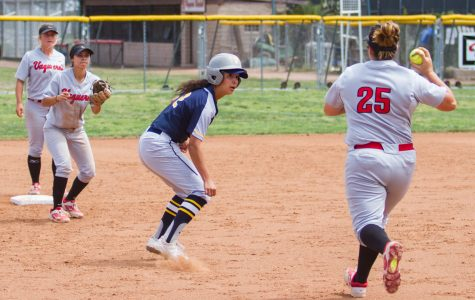 SBCC softball goes down in doubleheader despite late rallies