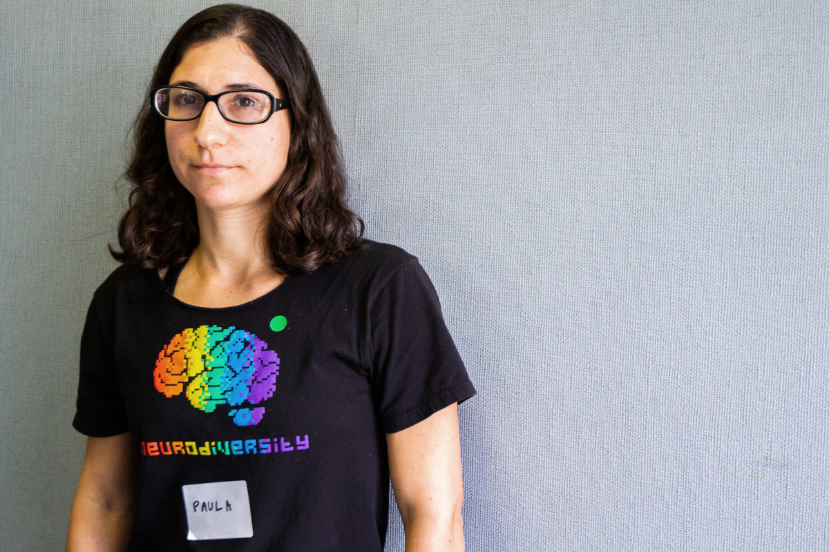 Paula Bergen, founder of the Neurodiversity Club at Santa Barbara City College on Friday, April 6. The club meets on Fridays at 1:30 at Campus Center Room 216.