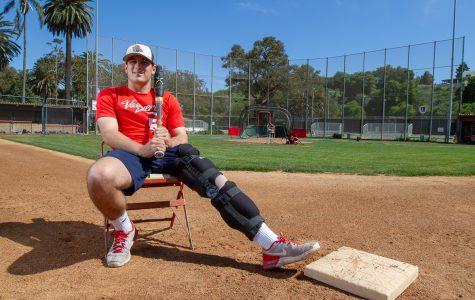Standout baseball player out for the season after in-game injury