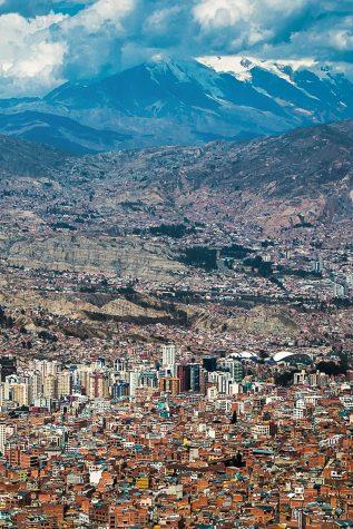 The city of La Paz. Courtesy of Francisco Rodriguez